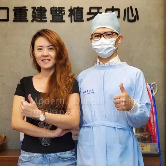 醫師細心又溫暖 解決多年缺牙困擾 1