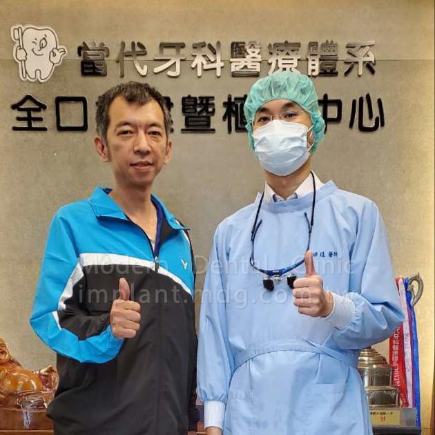 感謝醫師和護理團隊,讓我的第一次植牙圓滿成功! 1